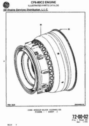 J57 Turbojet Engine
